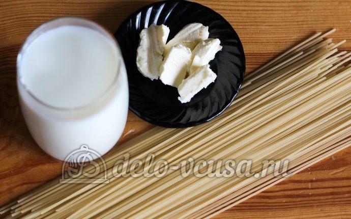 Молочный суп с вермишелью: Ингредиенты