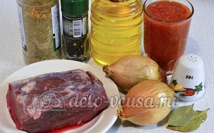 Отбивные из говядины в духовке: Ингредиенты