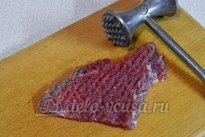 Отбивные из говядины в духовке: Мясо отбить
