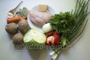 Овощной суп с фрикадельками: Ингредиенты