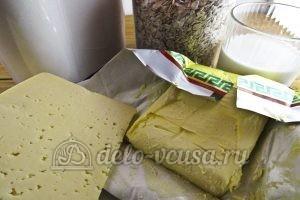 Овсяное печенье с сыром: Ингредиенты