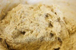 Овсяное печенье с сыром: Добавить молоко