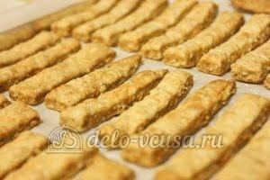 Овсяное печенье с сыром: Выпекаем до готовности
