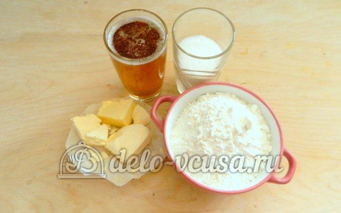 Печенье на пиве: Ингредиенты