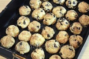 Печенье с корицей и изюмом: Выпекаем до готовности