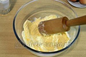 Печенье с корицей и изюмом: Растереть сливочное масло