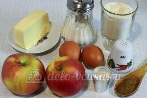 Печенье с яблоками и корицей: Ингредиенты