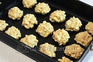 Печенье с яблоками и корицей: Формируем печенье