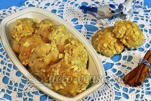 Печенье с яблоками и корицей: Выпекаем до готовности