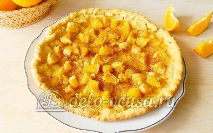 Песочный пирог с апельсинами