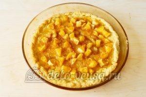 Песочный пирог с апельсинами: Выпекаем пирог до готовности