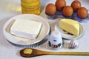 Рулет из омлета с творогом: Ингредиенты