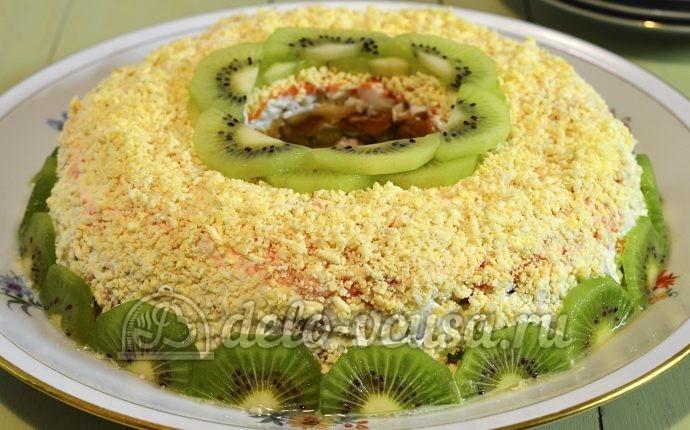 Салат малахитовый браслет пошаговый рецепт с фото