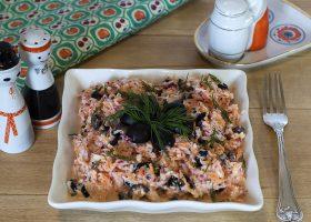 Салат из редиски с морковью