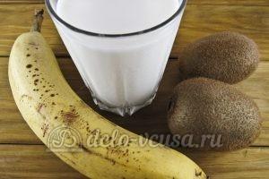 Овсяный смузи с бананом и киви: Ингредиенты
