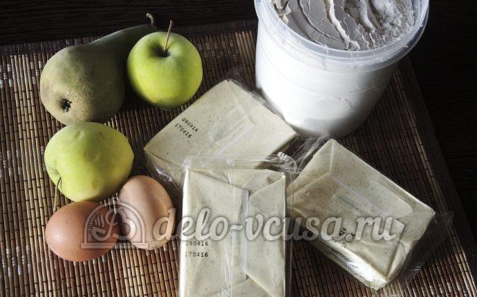 Сырники с фруктами: Ингредиенты