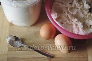 Ванильные сырники: Ингредиенты