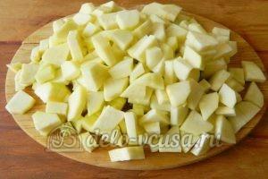 Варенье из кабачков с лимоном: Порезать кабачки