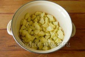 Варенье из кабачков с лимоном: Кладем кабачки в кастрюлю