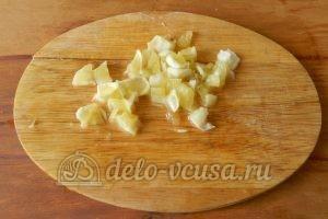 Варенье из кабачков с лимоном: Порезать лимон