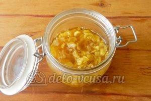 Варенье из кабачков с лимоном: Варенье перелить в банку