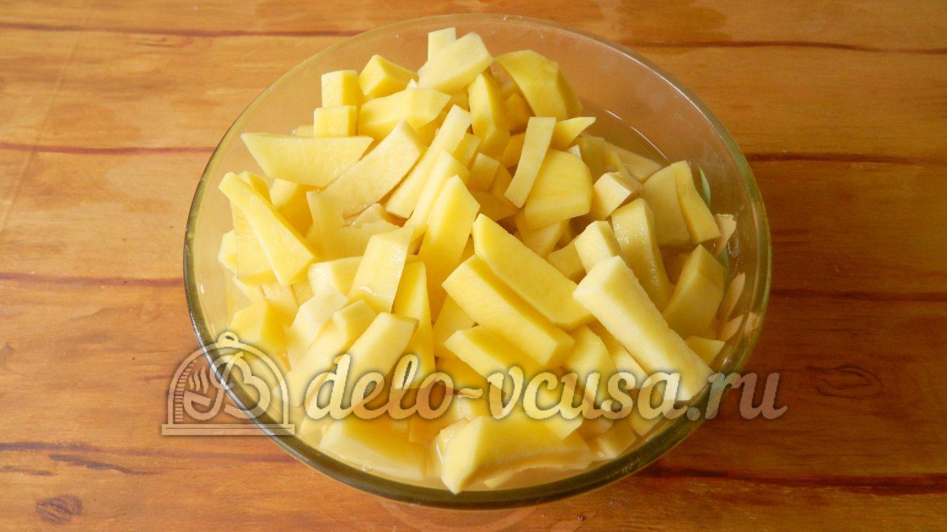 рецепт приготовления картошки с шампиньонами