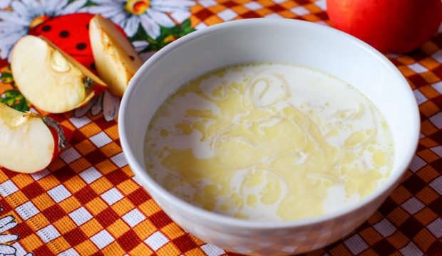 Как приготовить суп с вермишелью молочный рецепт с пошагово