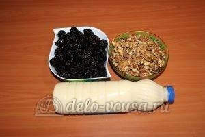 Чернослив с орехами и сгущенкой: Ингредиенты