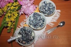 Чернослив с орехами и сгущенкой