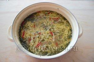 Суп-лапша с мясом: Доводим до готовности
