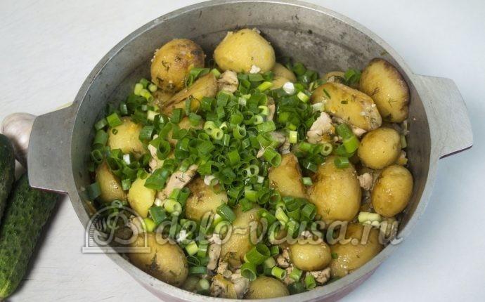 Рецепты из молодого картофеля и курицы