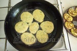 Оладьи из картофельного пюре: Жарим оладьи
