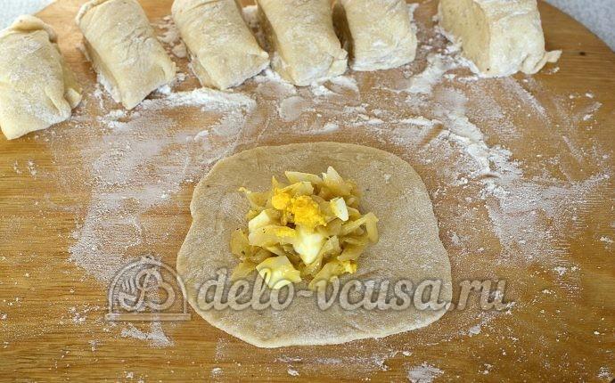 Как сделать начинку для пирожков с капустой и яйцом