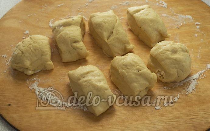Пирожки с луком и яйцом в духовке рецепт с фото