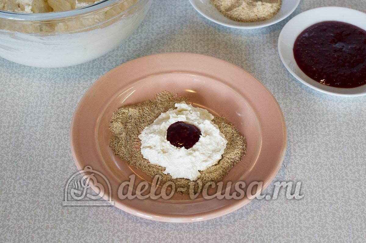 сырники с начинкой из варенья рецепт