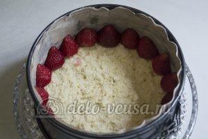 Торт Фрезье: Формируем торт
