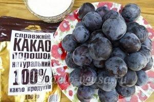Варенье Слива в шоколаде: Ингредиенты