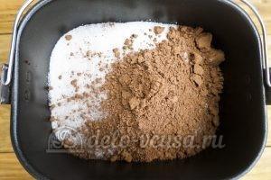 Варенье Слива в шоколаде: Добавить какао-порошок