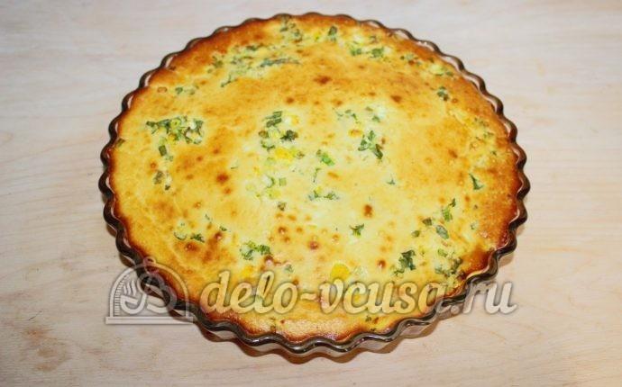 Пирог с луком и яйцом в духовке пошаговый рецепт