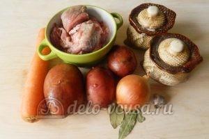 Жаркое из свинины в горшочках: Ингредиенты