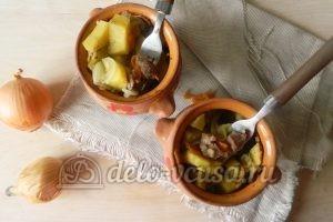 Жаркое из свинины в горшочках: Запекаем до готовности
