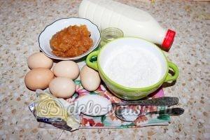 Блинчики с джемом: Ингредиенты
