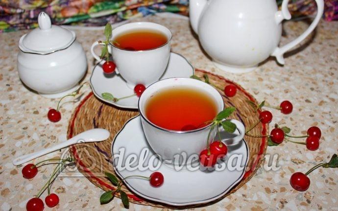 Чай с вишней