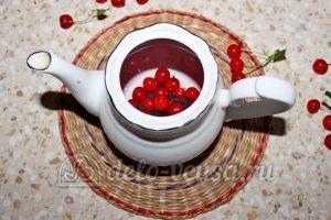 Чай с вишней: Добавить ягоды