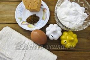 Чипсы из лаваша с сыром: Ингредиенты
