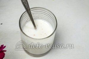 Дрожжевой рулет с маком: Молоко нагреть