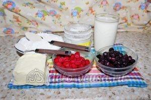 Дрожжевой пирог с малиной: Ингредиенты