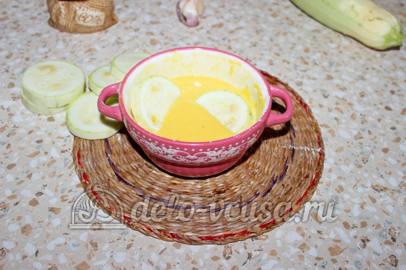 кабачки жареные в кляре пошаговый рецепт с фото