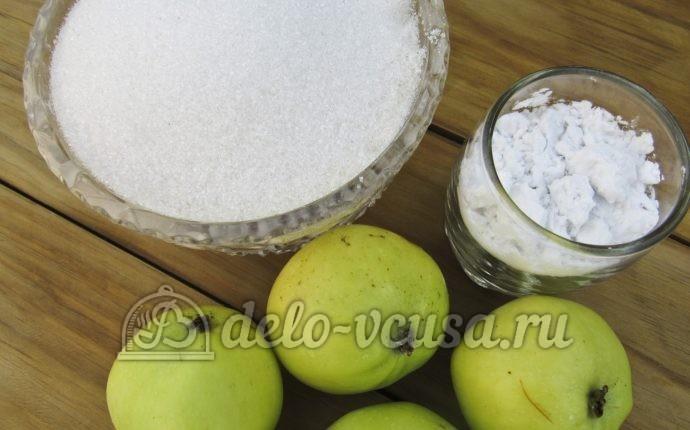 Кисель из яблок: Ингредиенты