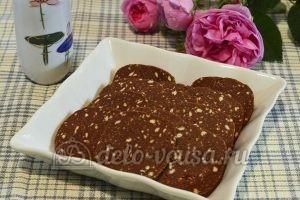 Сладкая колбаска с вареной сгущенкой